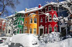 snow houses NYC
