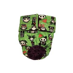 Dog Diapers - Made in USA - Christmas Skeleton Figures on Green Washable Dog Diaper for Incontinence, Housetraining and Dogs in Heat >>> Check out the image by visiting the link. (This is an affiliate link and I receive a commission for the sales)