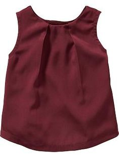 Sleeveless Crepe Tops for Baby   Old Navy