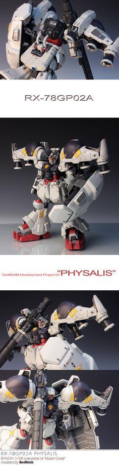 "RX-78 GP02A Physalis ""Master Grade"""