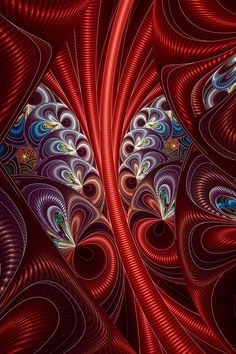 Happy loonies by FractalDesire on DeviantArt Fractal Design, Fractal Art, Fractal Geometry, Phone Screen Wallpaper, Fractal Patterns, Art Archive, Egyptian Art, Natural Forms, Innovation Design
