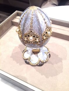 Fabergé Unveils New 'Imperial Egg' At Baselworld 2015 And Names Its Buyer