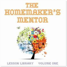 Homemaker's Mentor CD~ over 110 PDF files for learning homemaking skills- BIG giveaweay!