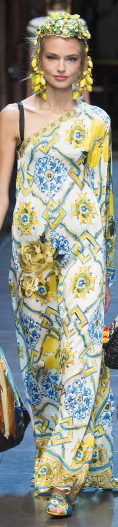 #2locos www.2locos.com Dolce & Gabbana Spring 2016 RTW