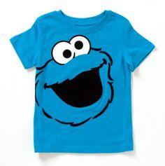 Toddler Cookie Monster Tee