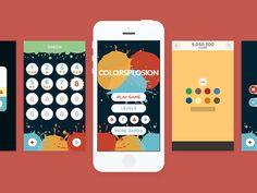 Colorsplosion Game Design #game #color