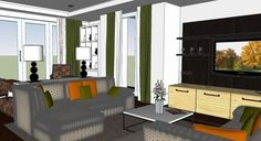 Apply V-ray & Sketchup for interior rendering of a living room: http://www.sketchup4architect.com/apply-v-ray-and-sketchup-for-interior-rendering-of-a-living-room.htm