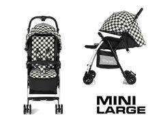 Passeggino Mini Large Twiggy di Brevi è il super-leggero (3,8 kg)