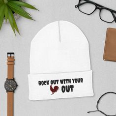Cuffed Beanie Unisex Fashion, Marketing And Advertising, Snug, Winter Hats, Beanie, Trending Outfits, Handmade Gifts, Style Fashion, Etsy