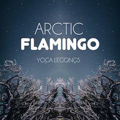RECYCLED YOGA LEGGINGS ECO FRIENDLY YOGA by ArcticFlamingo