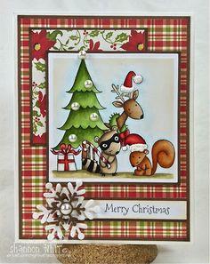 Enchanted Ladybug Creations: Merry Christmas (TE) - SSS185