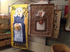 Humsera Bamberg Die freche bekannte Marktfrau aus dem Weltkulturerbe, so wie ich sie sehe in Pop- Art