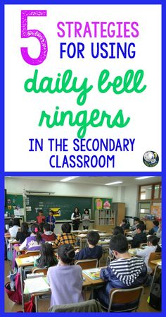 Classroom management is critical for creating and maintaining a positive learning environment. Students of all ages - even middle school and high school - thrive on structure. Daily bell ringers have been the foundation for my classroom culture and the #1 tool I use for formative assessment! Here are 5 strategies to help you implement daily bell ringers in your secondary classroom.