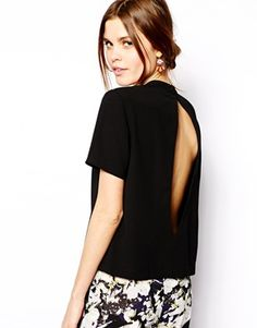 Enlarge ASOS Open Back T Shirt