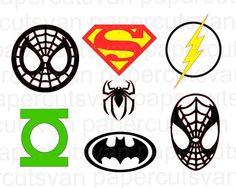 Superhero Super Pack Spiderman Batman Superman by papercutsvan
