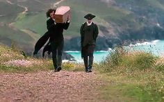 Ross Poldark walks the path carrying his daughter's coffin on his shoulder... Poldark, series 1, finale, review: 'devastatingly good' The rip-roaring series finale of Poldark is one of those rare occasions when a popular drama series delivers something that properly belongs to art, says Allison Pearson...
