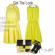 """""""Get The Look Yellow"""" by bemystylist on Polyvore"""