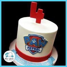 Torta Paw Patrol, Paw Patrol Cake Toppers, Paw Patrol Birthday Cake, Birthday Cakes, Birthday Parties, Buttercream Birthday Cake, Cumple Paw Patrol, Cake For Husband, Party Decoration