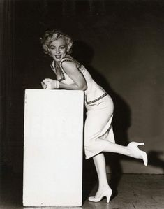 Marilyn in a photo session for the Sunday News Magazine, September 1952.