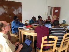 Overleg met de lokale coördinatoren van de Stichting en partner AMCES - URAMO - april 2015.
