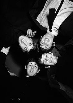 John Lennon, George Harrison, Richard Starkey, and Paul McCartney
