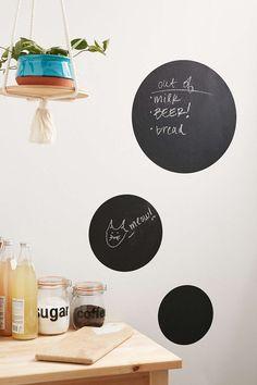Walls Need Love Write-On Circles Wall Decal Set