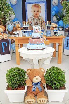 Barbara, adoramos o resultado da festa ursinho azul. Ficou tudo super lindo e delicado e o Pedro, um anjo! A Barbara comprou a f...