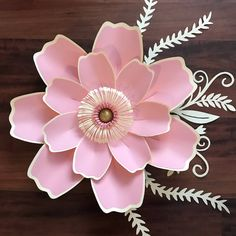 A personal favorite from my Etsy shop https://www.etsy.com/listing/584162191/pdf-petal-123-paper-flower-template-with