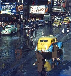 NYC. Times Square, 1944