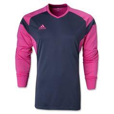 30fc3e49ecd adidas Precio 14 Grey Pink Soccer Goalkeeper Jersey - model F50683 - Only   31.49