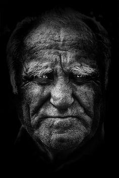 Portrait by saja , via Behance