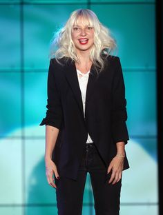 Celebrity Hair and Makeup: Sia Furler