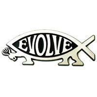 Evolve Car Emblem / Car Plaque