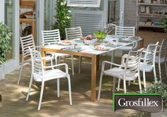 Source-a-id - GROSFILLEX / LE MOBILIER OUTDOOR MADE IN FRANCE