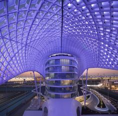The Yas Hotel Interiors (Abu Dhabi, UAE) by Jestico + Whiles
