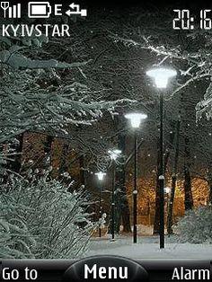Swf Park Anim Winter Night, Gifs, Park, Outdoor, Videos, Google, Xmas, Fiestas, Vintage