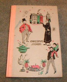 Christmas Stories by Charles Dickens (1955, hardcover) Nelson Doubleday Jr Delux