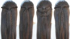 4 peinados rápidos para cada día