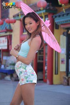 Sexy asian alina li girl