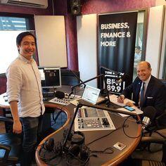 Radio interview in Kuala Lumpur, Malaysia.   #radiointerview #interview