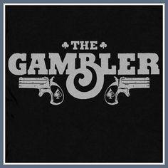 The Gambler T Shirt Poker Texas Hold Em Table Cards WSOP Las Vegas Casino Tee