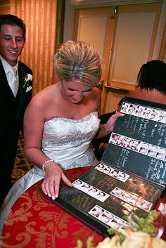 Create a wedding photobook