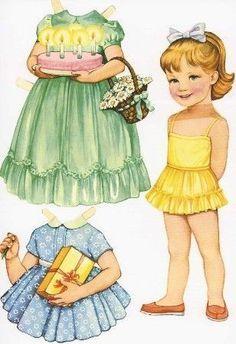 Recortables de muñecas: Fotos de originales diseños