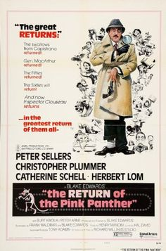 The Return of the Pink Panther (1975) Peter Sellers, Christopher Plummer