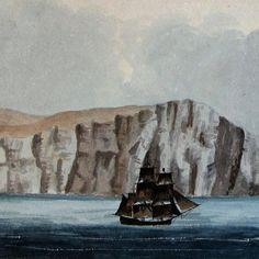 Gráficos de encuestas y perfiles costeros por Horatio Nelson Head.