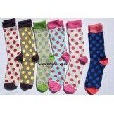 men's polka dot socks Polka Dot Socks, Polka Dots, Mens Argyle Socks, Dress Socks, Wool Dress, Cotton Dresses, Color, Style, Fashion