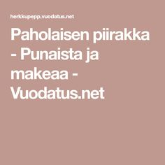 Paholaisen piirakka - Punaista ja makeaa - Vuodatus.net