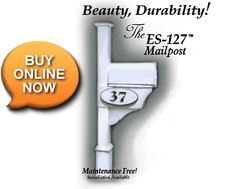 ES-127 Mailpost, easy installation and available for online order
