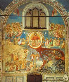 GIOTTO. Juicio Final. 1302-1305. Capilla Scrovegni. Padua