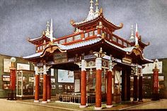 915 - The Panama-Pacific International Exposition - The Japanese Section in the Palace of Transportation